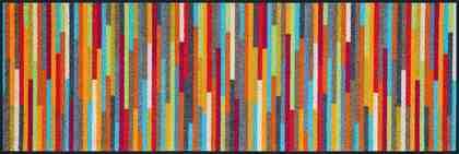 Läufer »Mikado Stripes«, wash+dry by Kleen-Tex, rechteckig, Höhe 7 mm