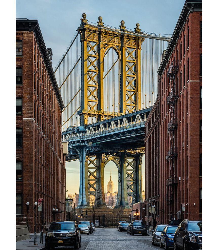 Vlies-Fototapete, Komar, »Brooklyn«, 184/248 cm