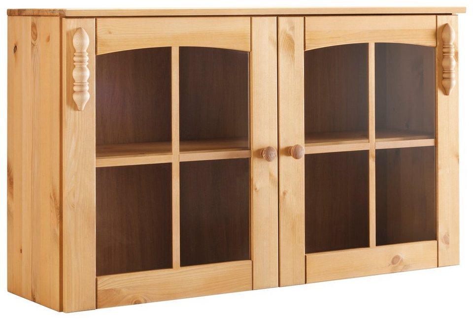 h ngevitrine sylt mit 2 glast ren online kaufen otto. Black Bedroom Furniture Sets. Home Design Ideas