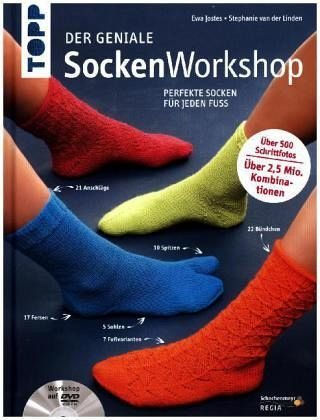 Gebundenes Buch »Der geniale Sockenworkshop«