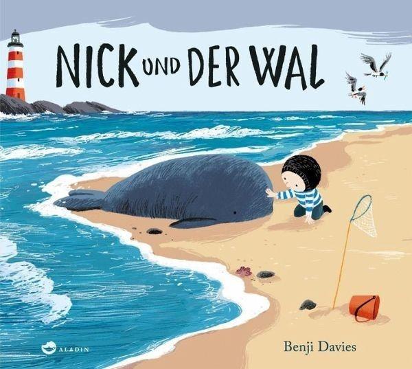 Gebundenes Buch »Nick und der Wal«