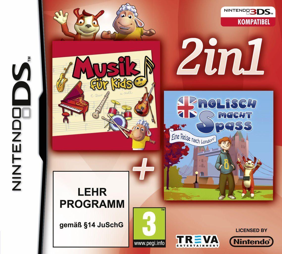 Treva Nintendo DS - Spiel »2 in 1: Lernen - Musik & Englisch«