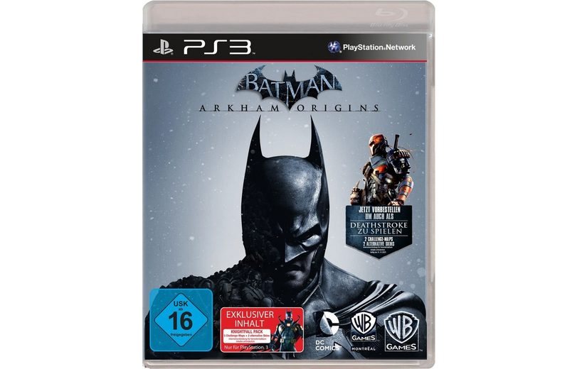 Warner Games Playstation 3 - Spiel »Batman - Arkham Origins«