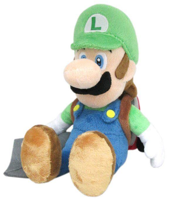 Together+ Fanartikel »Nintendo Plüschfigur Luigi mit Staubsauger (26cm)«