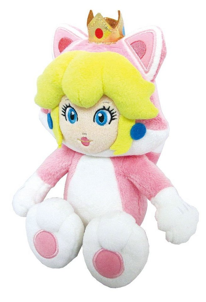 Together+ Fanartikel »Nintendo Plüschfigur Peach Katze (25cm)«