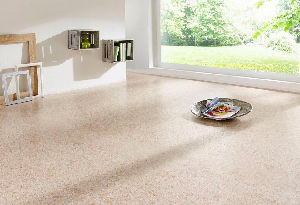 PVC Boden »Saba«, grau, Festmaß 300x400 cm in grau