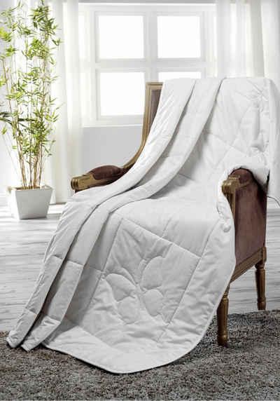 Naturfaserbettdecke, »Classic«, Dreams, Füllung: 100% Seide, Bezug: 100% Baumwolle, guter Feuchtigkeitstransport, ideal für die warmen Monate