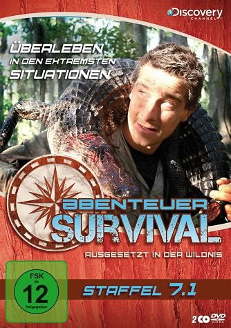 DVD »Abenteuer Survival - Staffel 7.1 (2 Discs)«