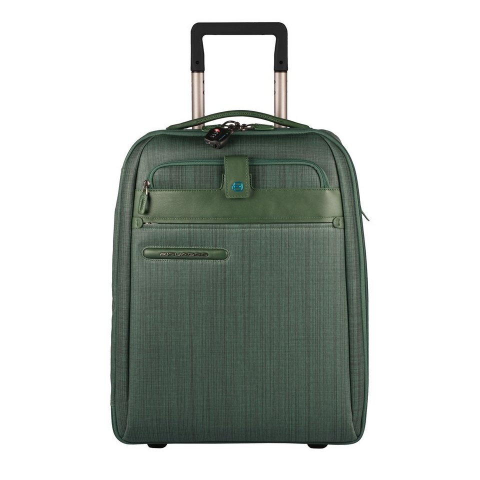 Piquadro Signo 2 Ultra Slim 2-Rollen Kabinentrolley 51 cm in green