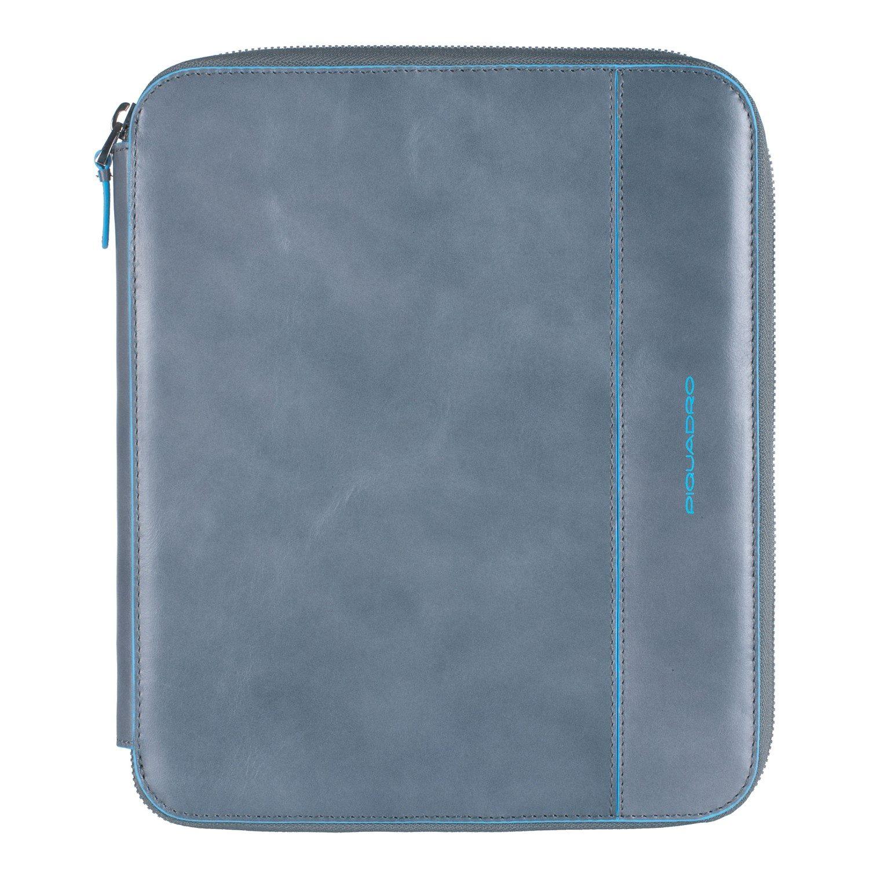 Piquadro Blue Square iPad Hülle Leder 25 cm