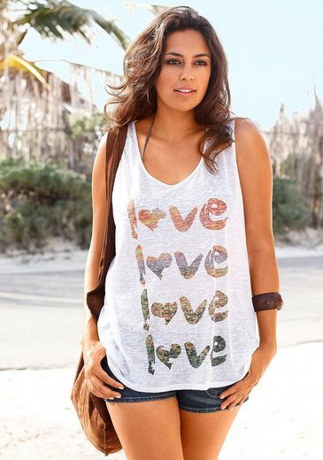 Beachtime Top With Print