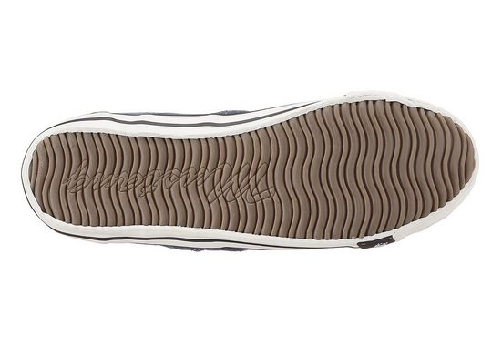 Mustang Shoes Slip-on Sneaker In A Summery Color Palette