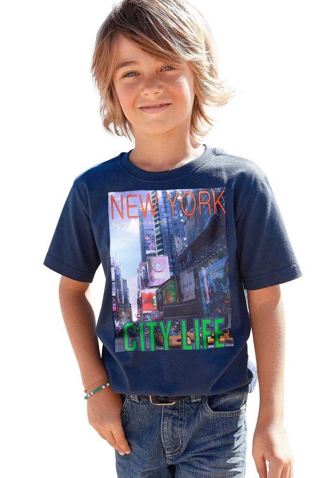"CFL T-Shirt ""New York"" in marine"