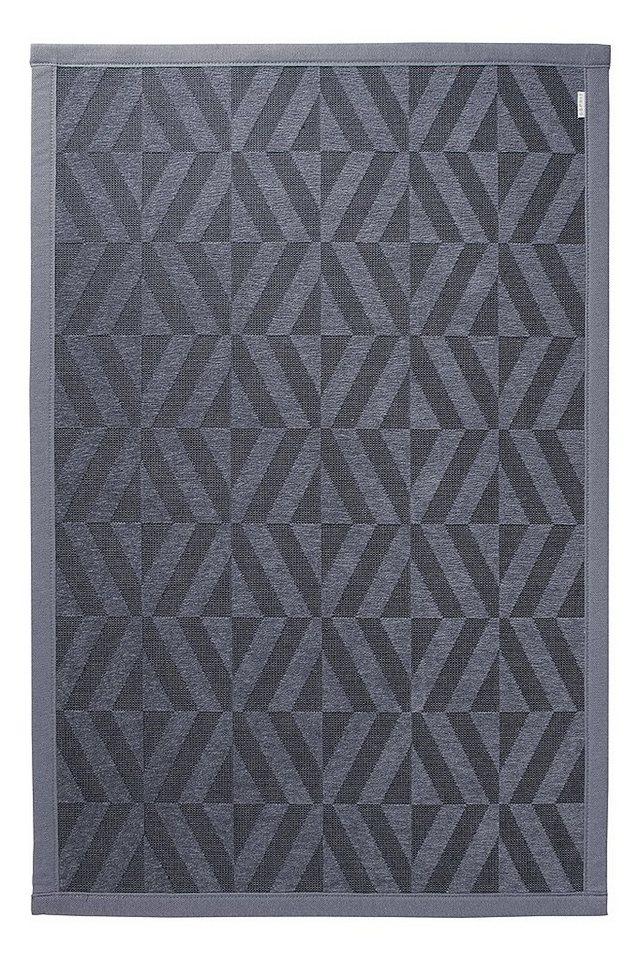 Badematte, Esprit, »Kaleidoscope«, Höhe 5 mm, beidseitig verwendbar in grau