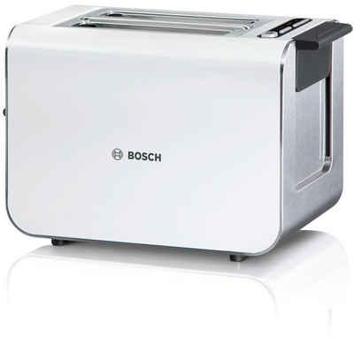 BOSCH Toaster Styline TAT8611, 2 kurze Schlitze, 860 W