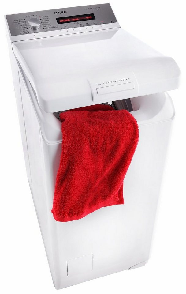AEG Waschmaschine Toplader L7527TL, A+++, 7 kg, 1200 U/Min in weiß