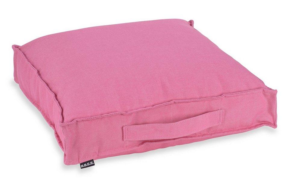 Hock, Outdoor-Matratzenkissen, »Caribe« in pink