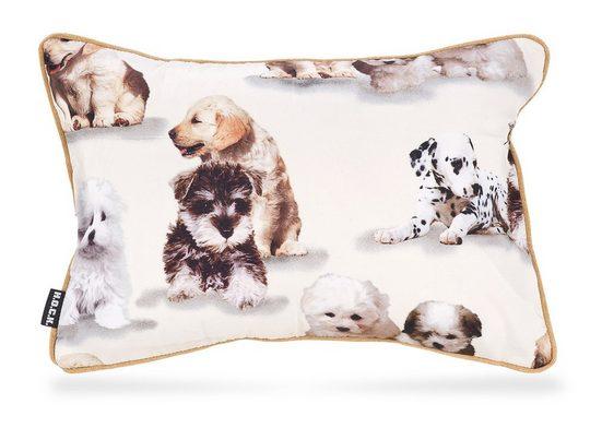 H.O.C.K. Dekokissen »Bisu«, mit kleinen Hunden