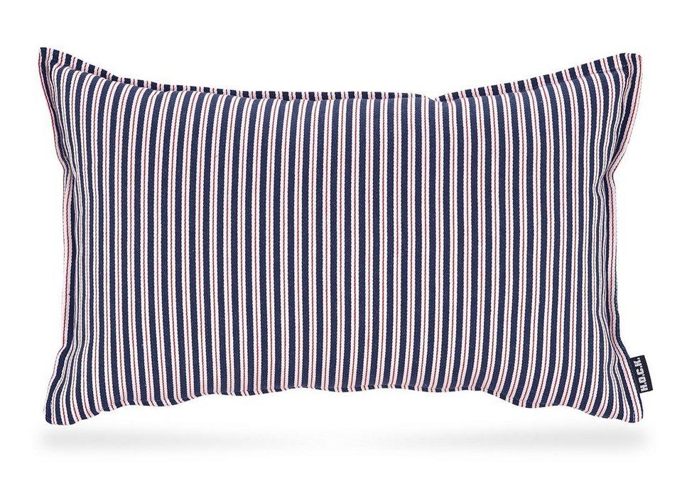 Kissen, Hock, »Tommy Stripe« in rot/blau/weiß