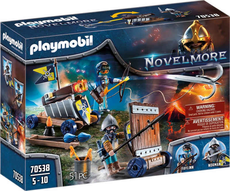 Playmobil® Konstruktions-Spielset »Angriffstrupp (70538), Novelmore«, (51 St), Made in Germany