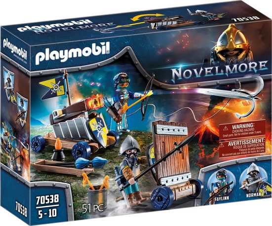 Playmobil® Konstruktions-Spielset »Angriffstrupp (70538), Novelmore«, ; Made in Germany