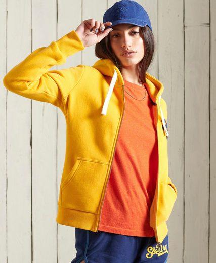Superdry Sweatshirt »COLLEGIATE ZIP HOOD« mit Reißverschluss