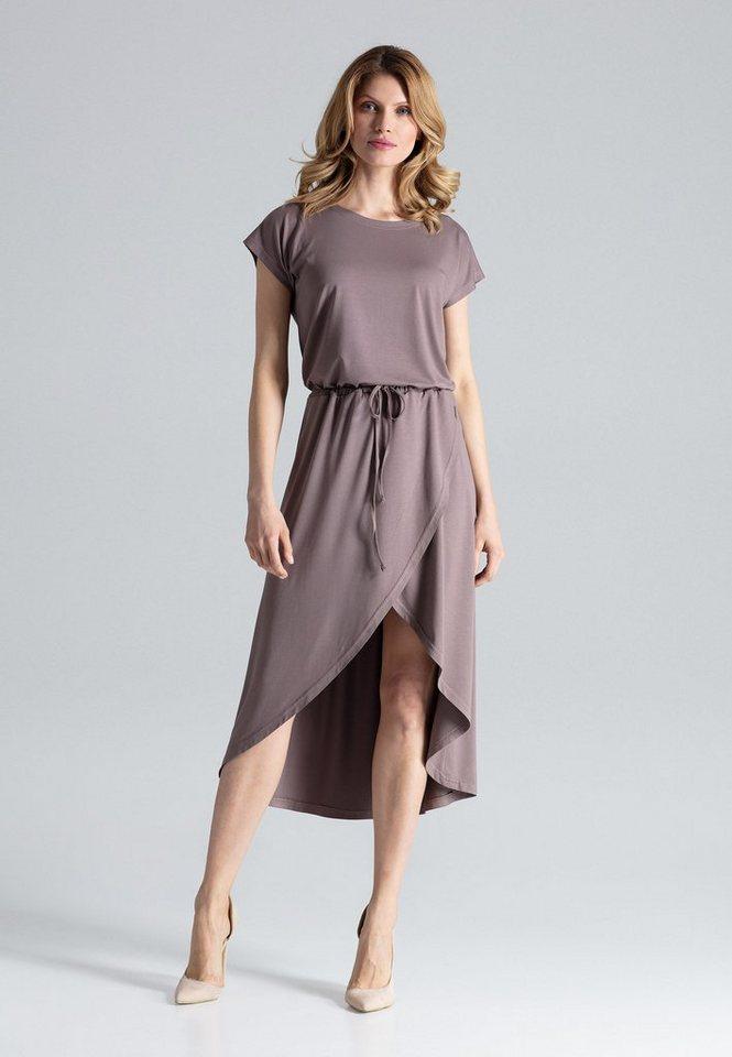 figl -  Jerseykleid mit verlängerter Rückseite