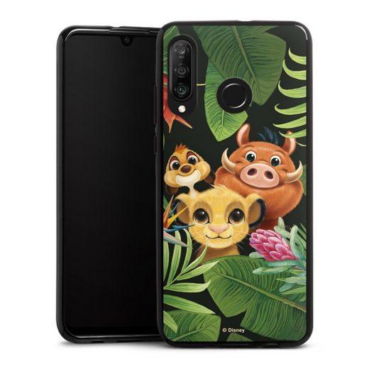 DeinDesign Handyhülle »Simbas Friends« Huawei P30 Lite, Hülle Disney Simba Timon und Pumbaa