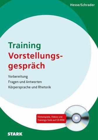 Broschiertes Buch »Hesse/Schrader: Training Vorstellungsgespräch«