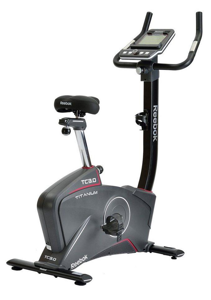 Ergometer, »Titanium Bike TC3.0«, Reebok in schwarz-grau