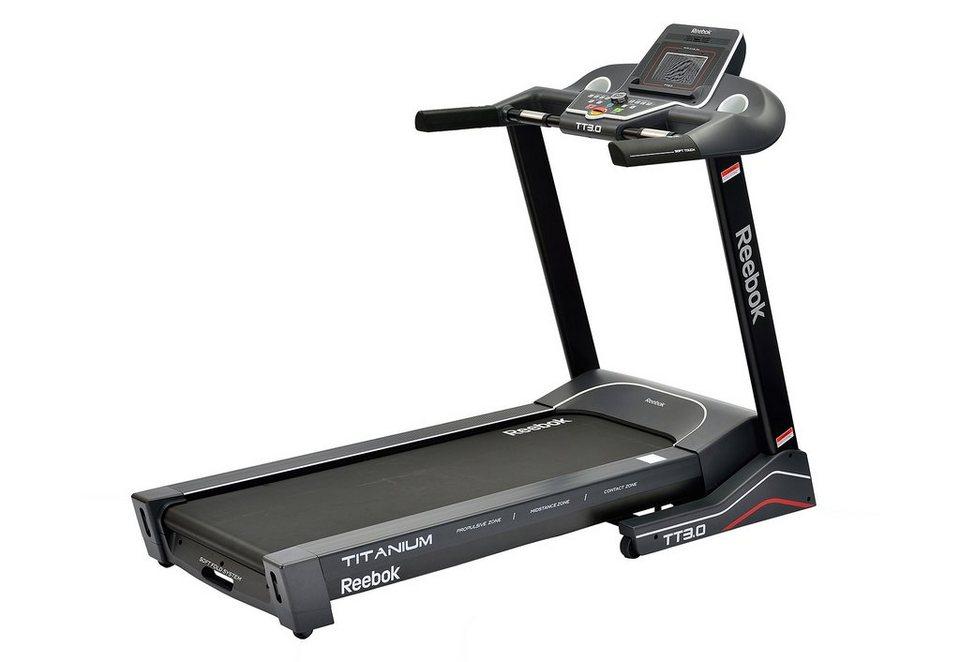 Laufband, »Titanium Treadmill TT3.0«, Reebok in schwarz