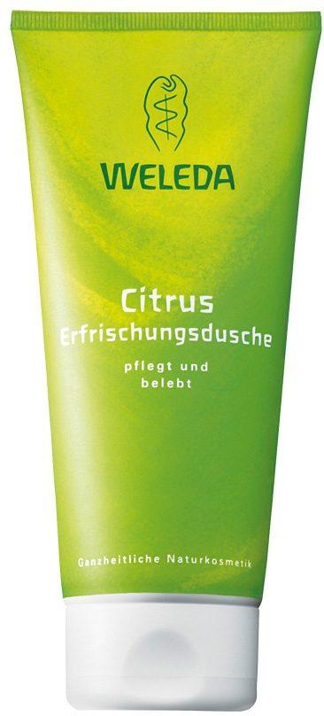 Weleda, »Citrus Erfrischungsdusche«, Duschgel, 200 ml