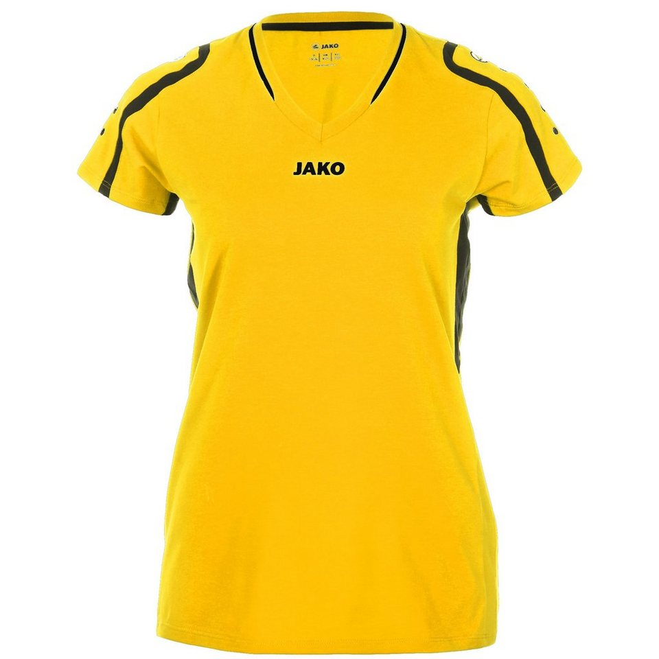 JAKO Trikot Block Damen in citro/schwarz
