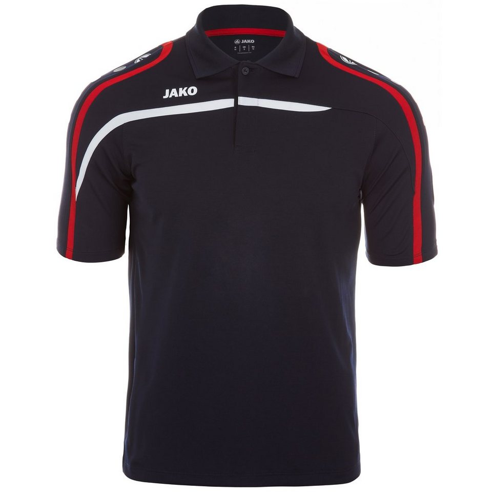JAKO Polo Performance Kinder in marine/weiß/rot
