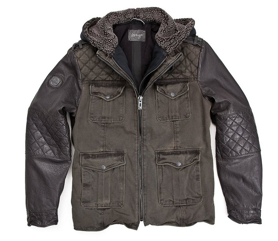 MAZE Jacke, Herren »Grove« in black/khaki