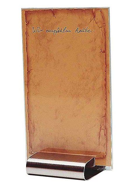 Tischkartenhalter-Set, APS (4tlg.) in silberfarben