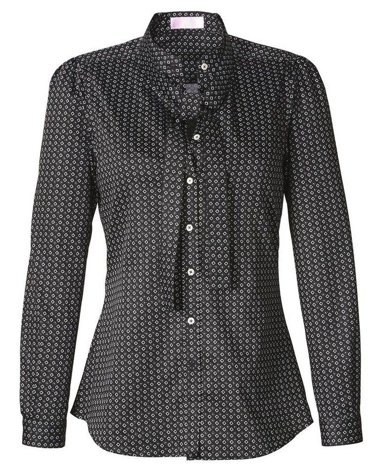Brigitte von Schönfels Krawattendruck-Bluse