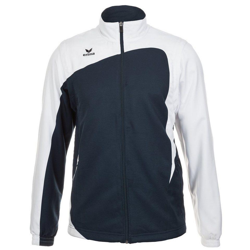 ERIMA CLUB 1900 Jacke mit abnehmbaren Ärmeln Herren in new navy/weiß