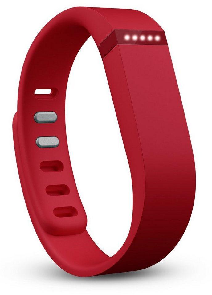 fitbit Activity Tracker »FLEX Aktivitäts- und Schlaf-Armband« in Rot