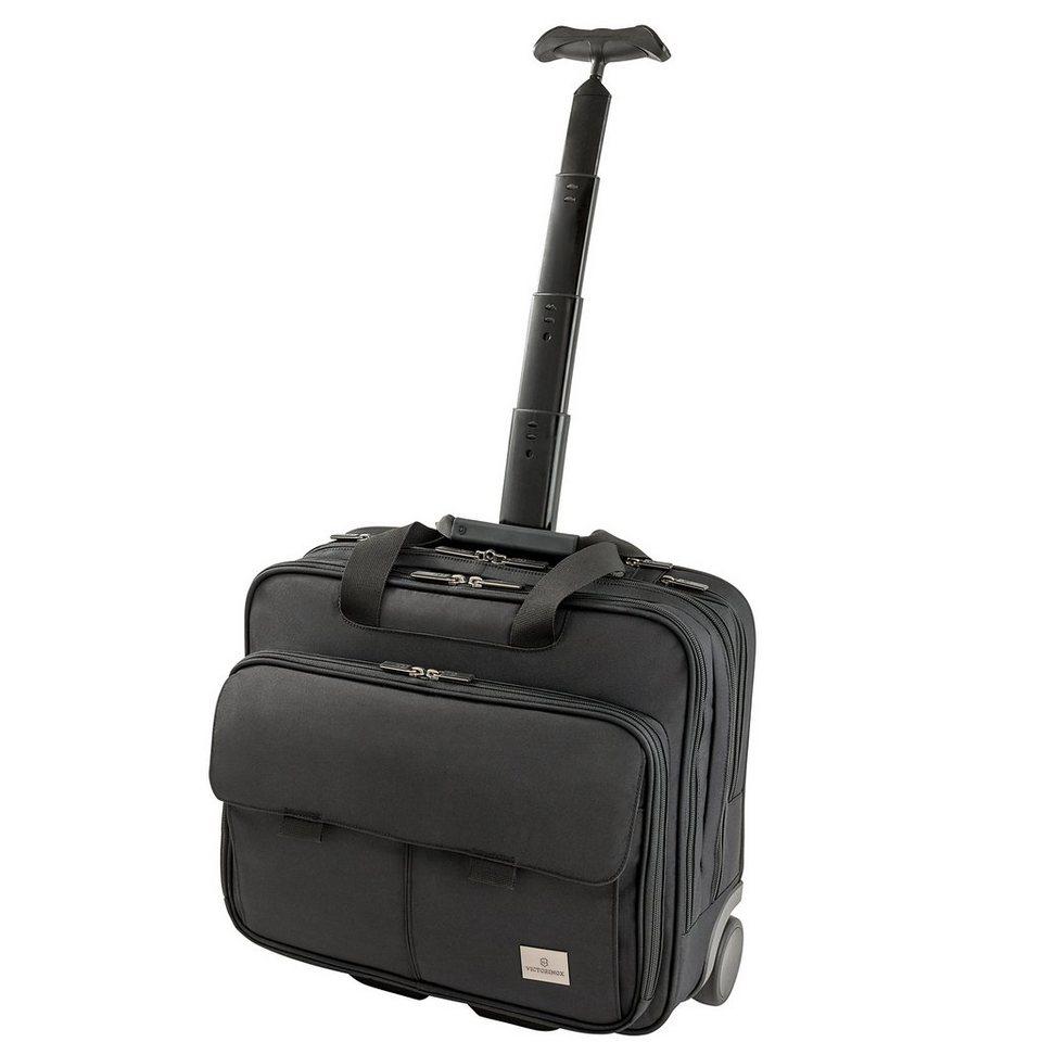Victorinox Werks Professional Strategist 2-Rollen Kabinentrolley 43 cm Lapt in black