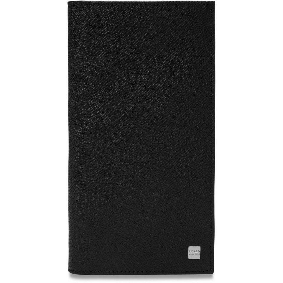 Picard Soho Visitenkartenetui Leder 10 cm in schwarz