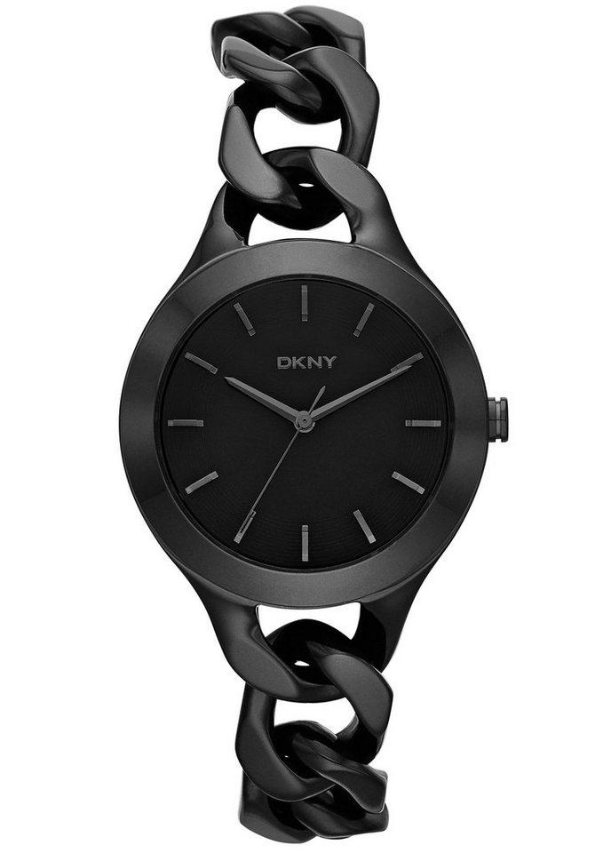 DKNY Quarzuhr »CHAMBERS, NY2219« in schwarz