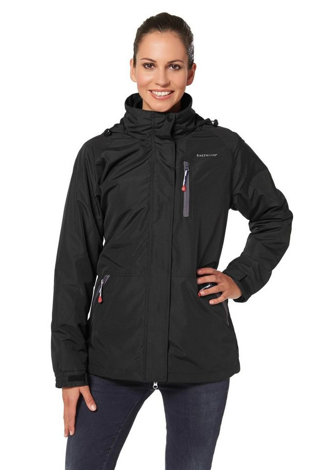 Eastwind 3-in-1-Funktionsjacke in Schwarz