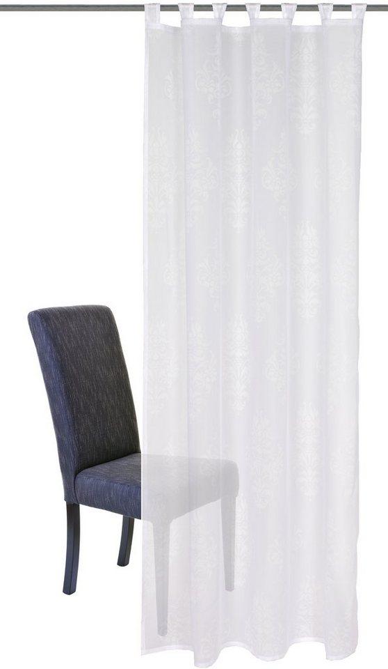 gardine home wohnideen fella mit schlaufen 1 st ck online kaufen otto. Black Bedroom Furniture Sets. Home Design Ideas