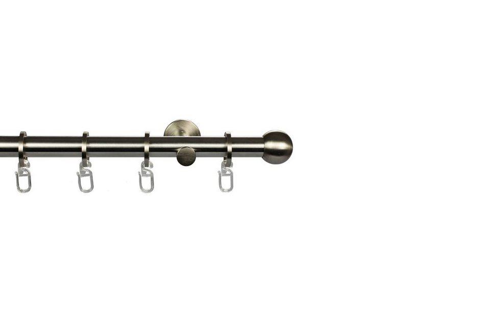 Gardinenstange nach Maß ø 20 mm, Garesa, »Balle« in edelstahloptik
