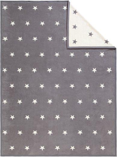 Wohndecke »Star«, IBENA, mit kleinen Sternen