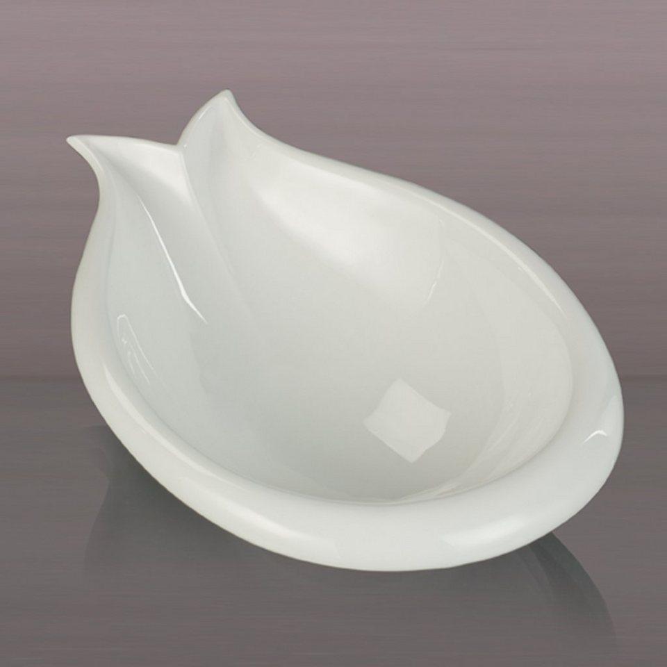 Kaiser Porzellan Schale Lily Pad in Weiß