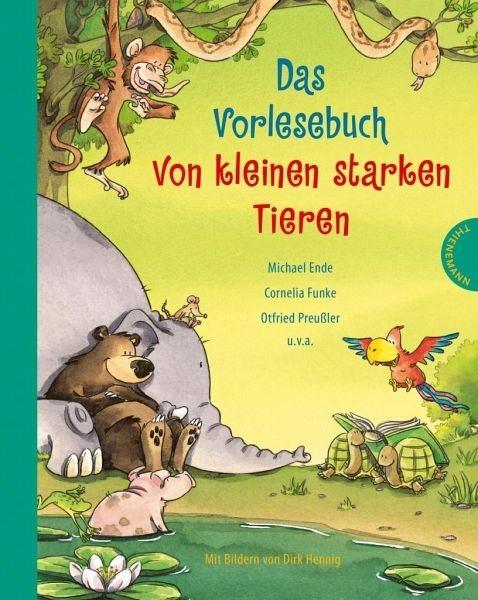 Gebundenes Buch »Das Vorlesebuch von kleinen starken Tieren«