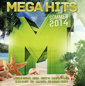 Audio CD »Diverse: Megahits Sommer 2014«