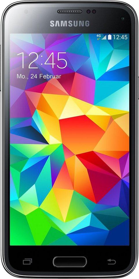 Samsung Galaxy S5 mini, 11,4 cm (4,5 Zoll) Display, LTE (4G), Android 4.4 mit Update auf 6.0.1 in schwarz